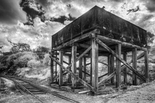 Photograph - Forgotten Railway by Russell Brown
