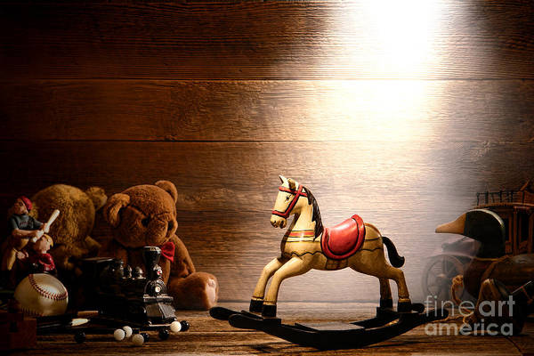 Wall Art - Photograph - Forgotten Toys by Olivier Le Queinec
