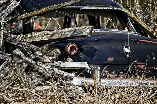 Photograph - Forgotten Vintage Car by Ms Judi