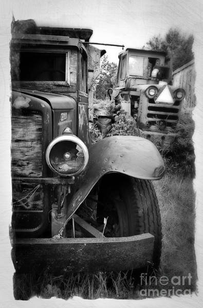 Wall Art - Photograph - Forgotten Workers by Perry Webster