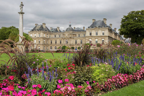 Castle Garden Photograph - Formal Palace Gardens by Tom Norring