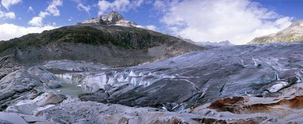 Ice Carving Photograph - Formation Of Rhone Glacier Lake by Dr Juerg Alean/science Photo Library
