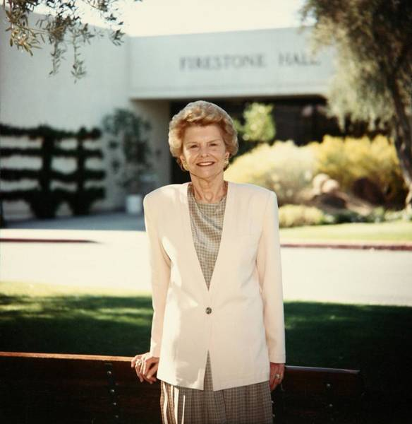 Rancho Mirage Photograph - Former First Lady Betty Ford Posing by Everett