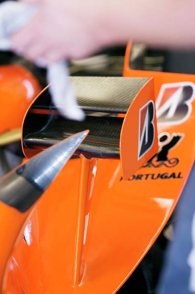 Vent Photograph - Formula One Car Bodywork by Gustoimages/science Photo Library