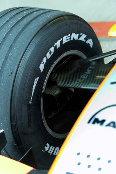 Brake Wall Art - Photograph - Formula One Car Brake Duct by Gustoimages/science Photo Library