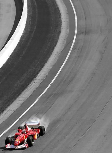 Photograph - Formula One by Wayne Wood