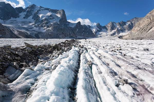Forno Glacier Art Print