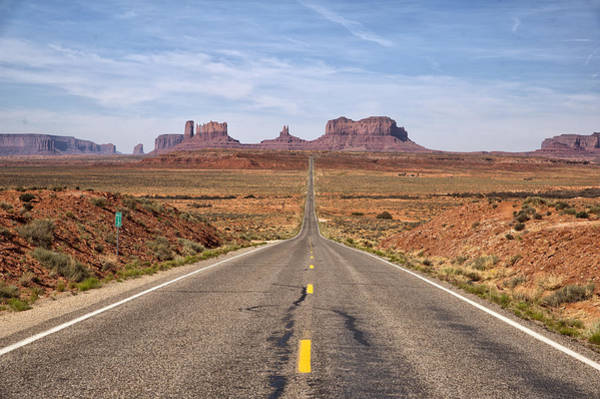 Photograph - Forrest Gump Monument Valley View by Melany Sarafis