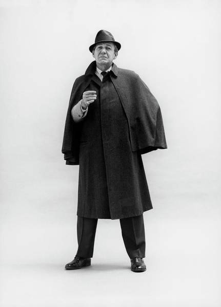 Photograph - Forrest Tucker Wearing A Tweed Coat by Leonard Nones