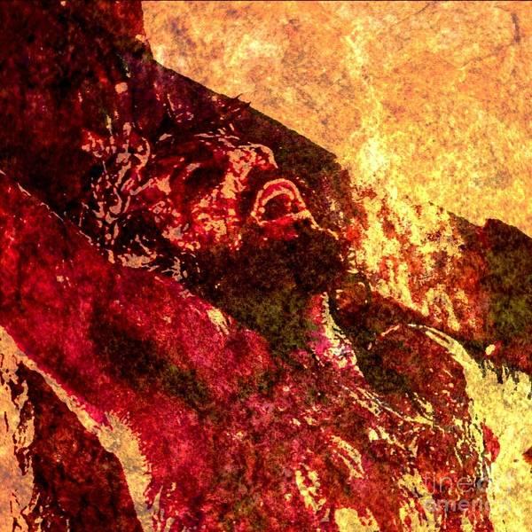 Lamb Of God Wall Art - Painting - Forsaken by Michael Grubb