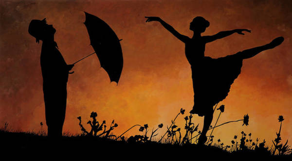 Dancing Painting - Forse Non Piove by Guido Borelli