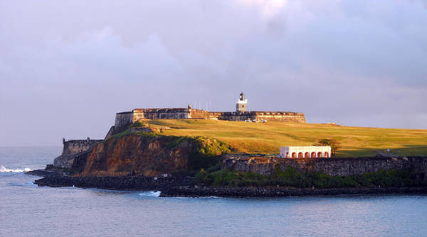 Photograph - Fort Bathed In Morning Light by Judy Hall-Folde