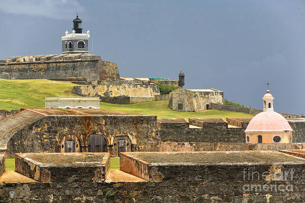Sentry Box Photograph - Fort El Morro by George Oze