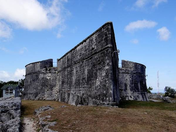 Photograph - Fort Fincastle Nassau by Keith Stokes