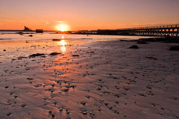 Photograph - Fort Foster Sunset by Jeff Sinon