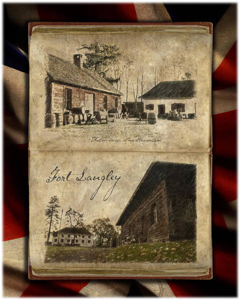 Photograph - Fort Langley Despatch by Doug Matthews