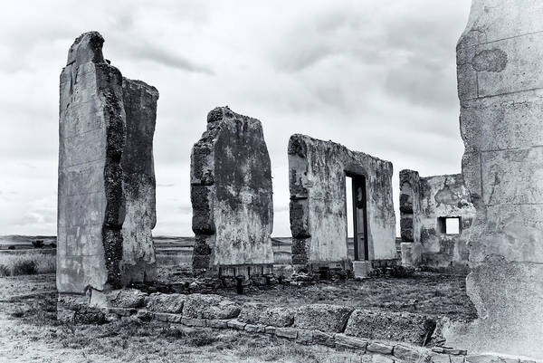Photograph - Fort Laramie Decay by Ghostwinds Photography