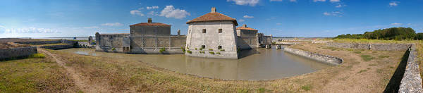 Fortification Photograph - Fort Lupin, Saint-nazaire-sur-charente by Panoramic Images