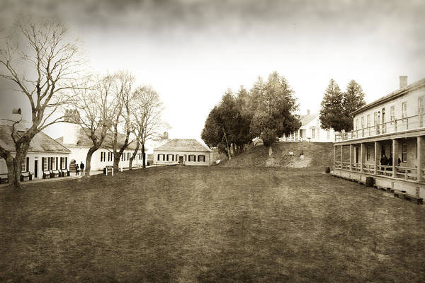Michilimackinac Wall Art - Photograph - Fort Mackinac 1 by Scott Hovind
