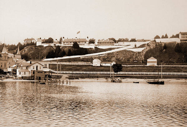 Michigan Drawing - Fort Mackinac, Michigan, Forts & Fortifications by Litz Collection