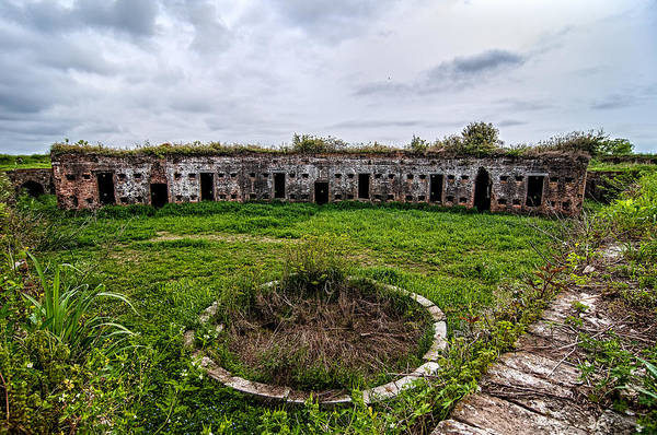 Photograph - Fort Macomb Parade Ground by Andy Crawford