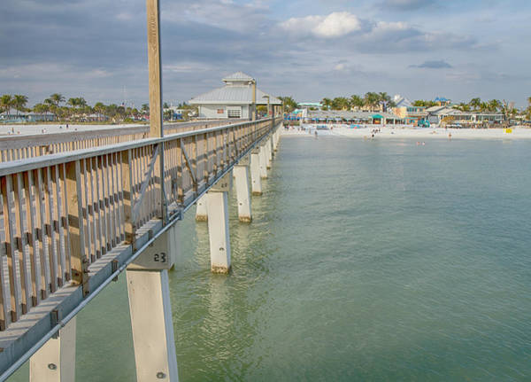 Gulf State Park Photograph - Fort Myers Beach by Kim Hojnacki