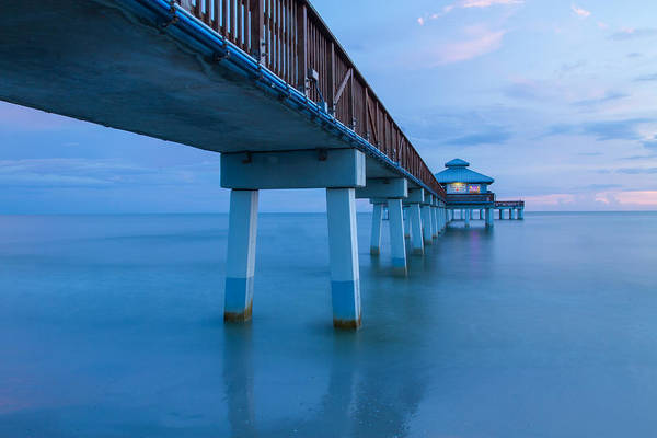 Photograph - Fort Myers Beach Pier by Doug McPherson