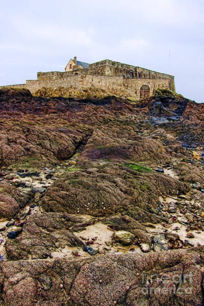 Escarpment Photograph - Fort National In Saint Malo Brittany by Olivier Le Queinec