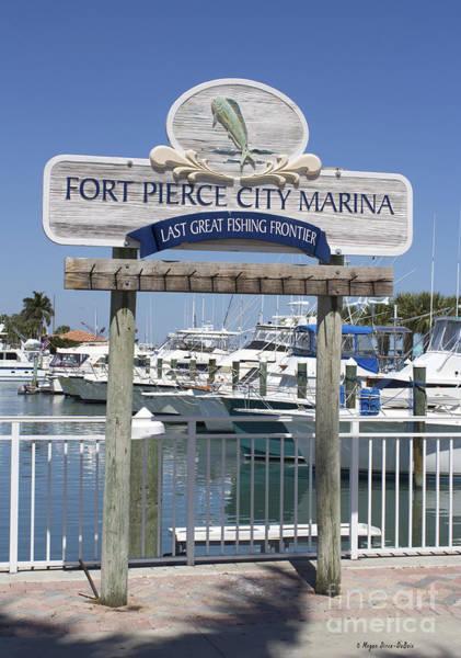 Photograph - Fort Pierce City Marina By Megan Dirsa-dubois by Megan Dirsa-DuBois