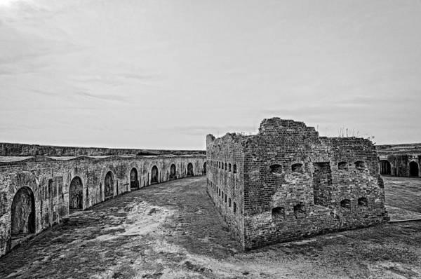 Photograph - Fort Pike Bastion by Andy Crawford