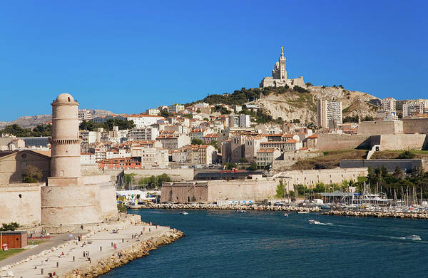 Rhone River Photograph - Fort Saint-jean And Old Port Of Third by Panoramic Images