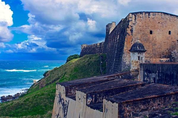 Puerto Rican Photograph - Fort San Cristobal by Stuart Litoff