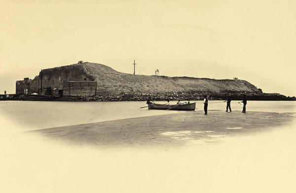 Fort Sumpter Photograph - Fort Sumter, 1864 by Getty Research Institute