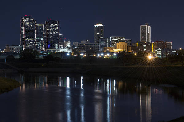 Photograph - Fort Worth Blue Hour by Jonathan Davison
