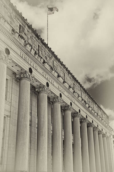 Photograph - Fort Worth Post Office by Joan Carroll