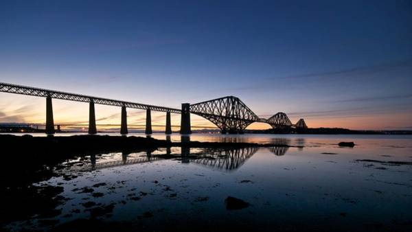 Photograph - Forth Rail Bridge by Stephen Taylor