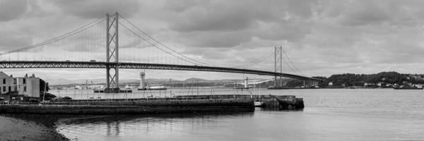 Photograph - Forth Road Bridge by Gary Eason