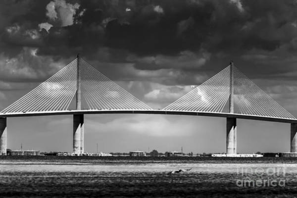 Port Of Tampa Wall Art - Photograph - Fortified Defiance by Marvin Spates