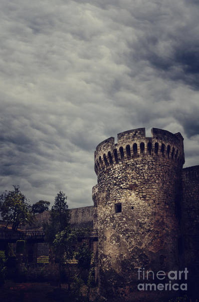 Wall Art - Pyrography - Fortress by Jelena Jovanovic