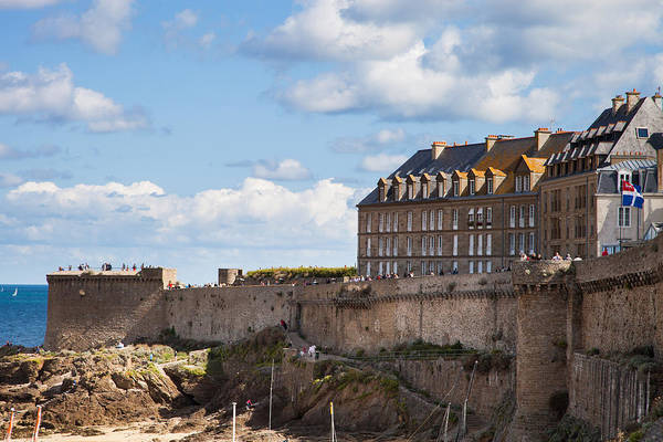 Wall Art - Photograph - Fortress Of St. Malo by W Chris Fooshee