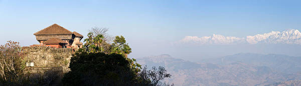 Wall Art - Photograph - Fortress On A Hill, Gorkha Durbar by Panoramic Images