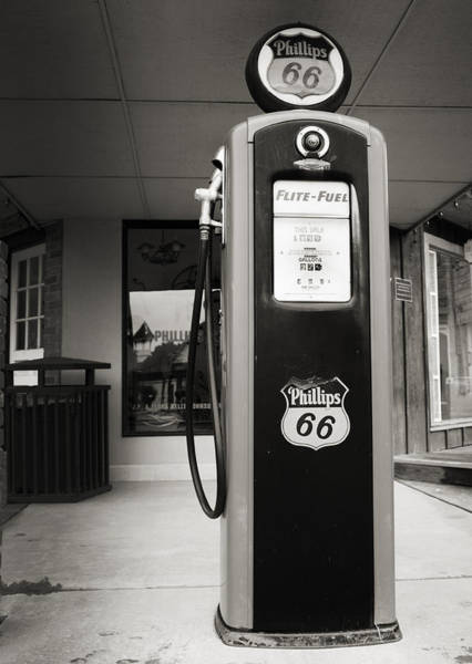 Historic Route 66 Photograph - Forty Cents A Gallon by Ricky Barnard