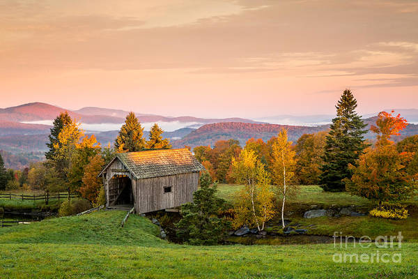 Photograph - Foster Covered Bridge  by Susan Cole Kelly