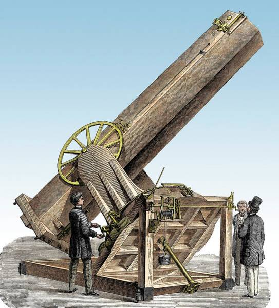 Physicist Photograph - Foucault Reflecting Telescope by Sheila Terry