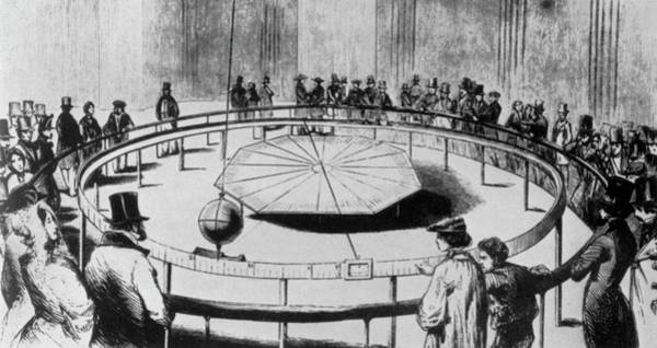 1851 Photograph - Foucault's Pendulum In The Pantheon by Emilio Segre Visual Archives/american Institute Of Physics/science Photo Library