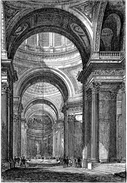 Pantheon Wall Art - Photograph - Foucault's Pendulum by Universal History Archive/uig