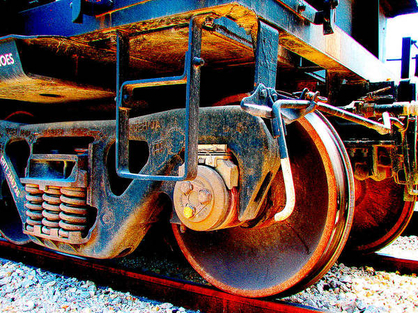 Union Pacific Railroad Wall Art - Photograph - Foundation 1 by Wendy J St Christopher