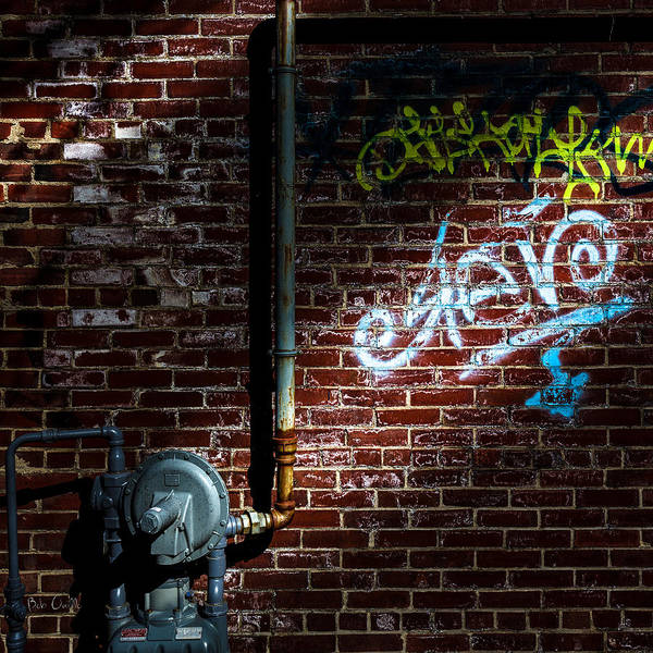 Photograph - Foundation Number G2 Graffiti  by Bob Orsillo