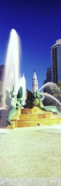 Wall Art - Photograph - Fountain In A City, Swann Memorial by Panoramic Images