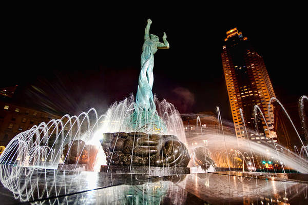 Photograph - Fountain Of Eternal Life by Brent Durken